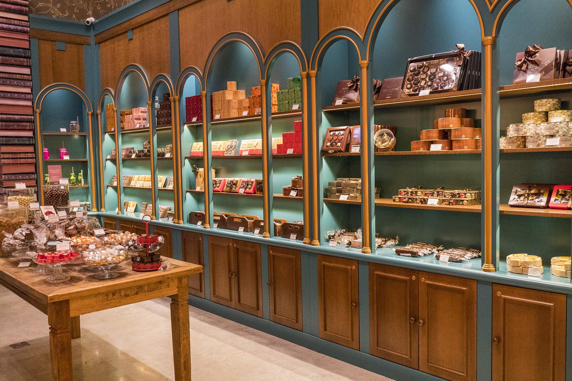 Chocolate em Gramado - Caracol - Fantástica Loja de Chocolate