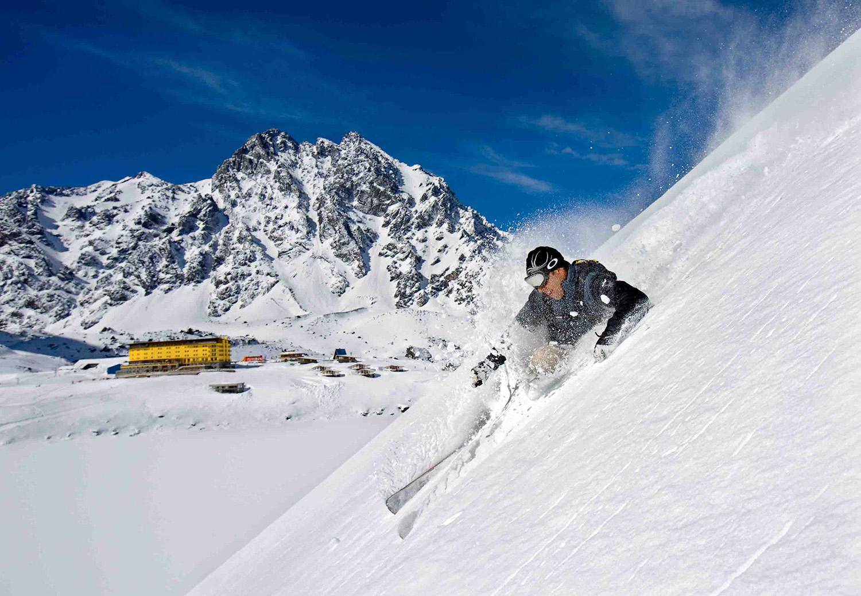 Portillo: Estação de Ski