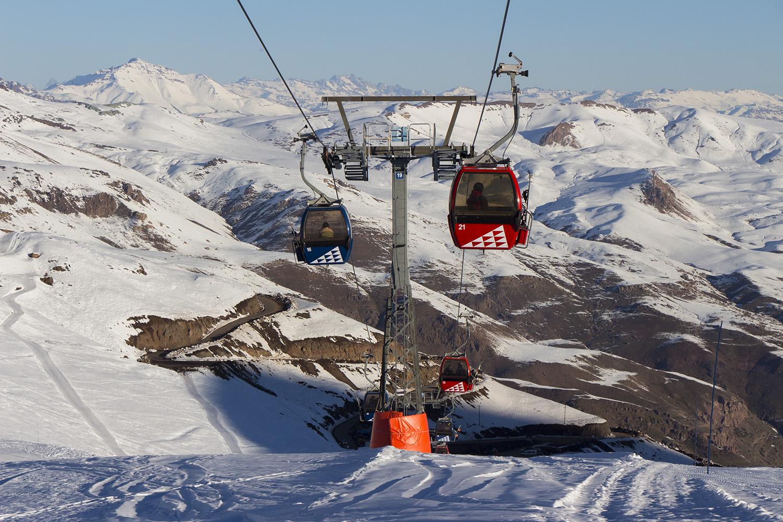 Valle Nevado: Estação de esqui