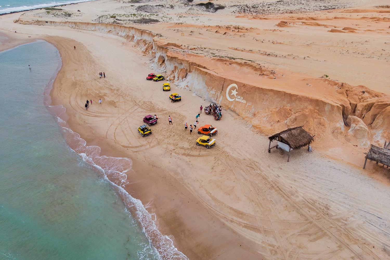 Praias no Brasil - Canoa Quebrada