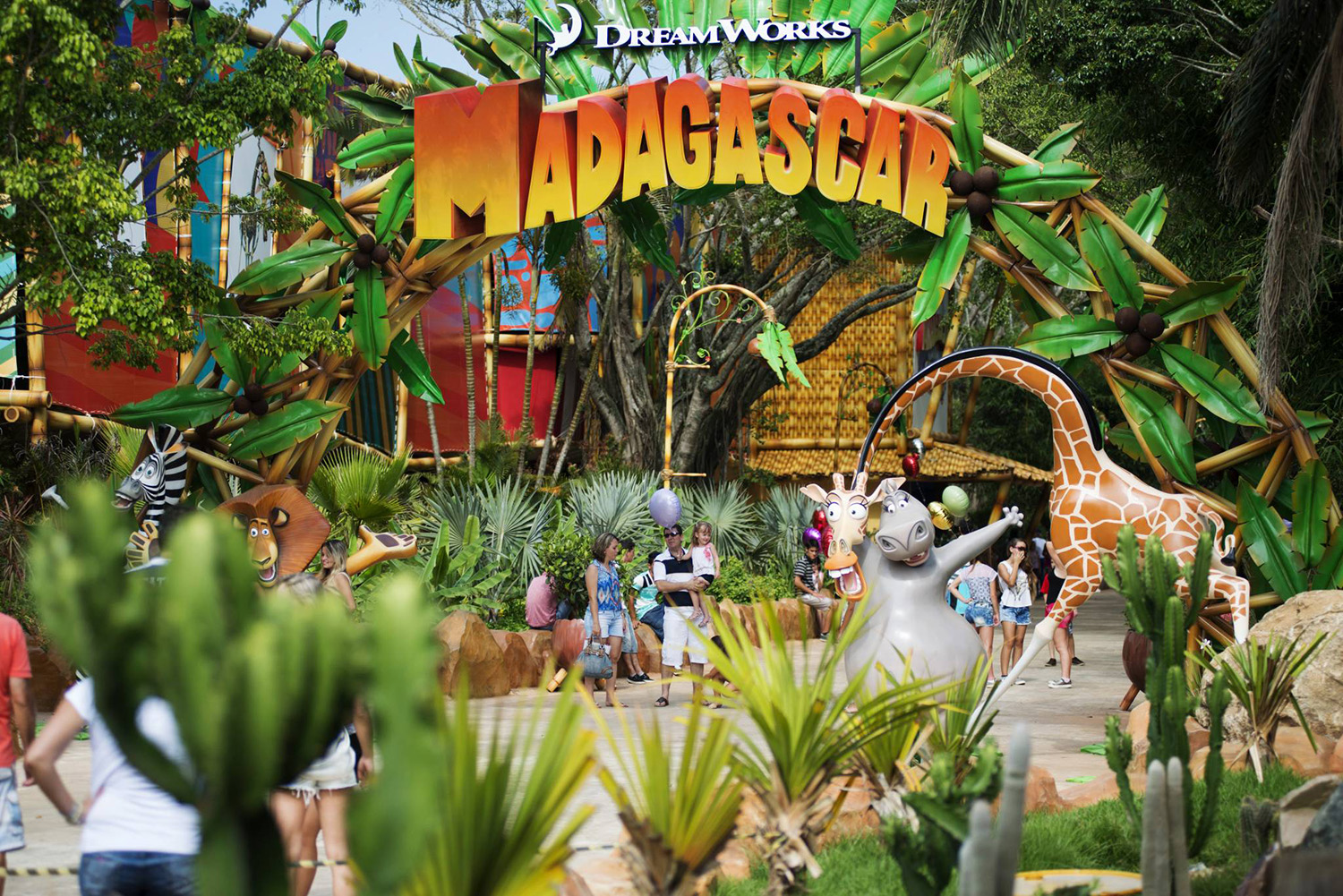 Beto Carrero World - Madagascar