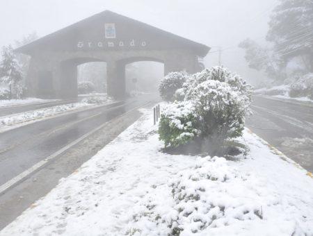 Neve em Gramado: previsão para esse final de semana!
