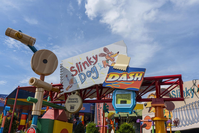 Toy Story Land: Slinky Dog Dash