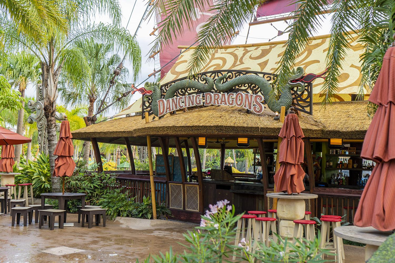 Volcano Bay - Restaurante