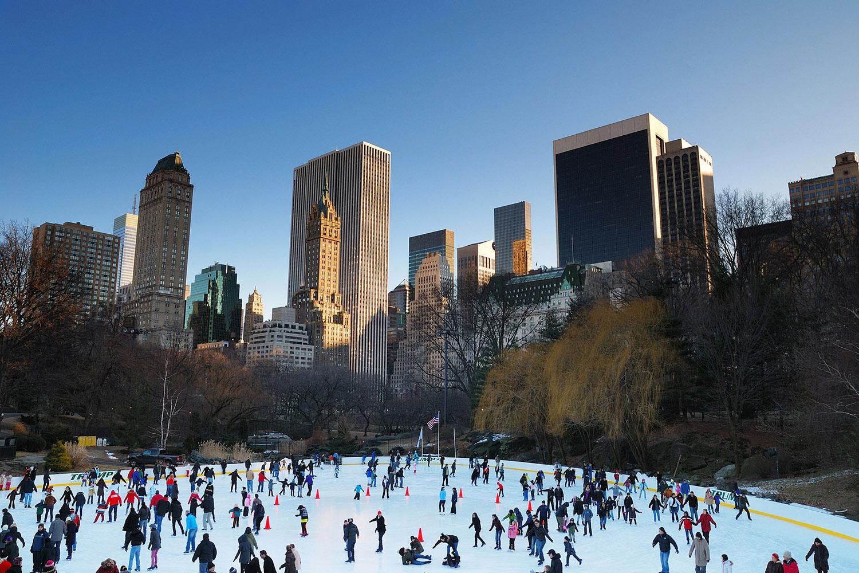 Natal em Nova York - Central Park