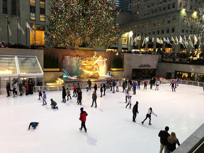 Natal em Nova York - Rockefeller Center
