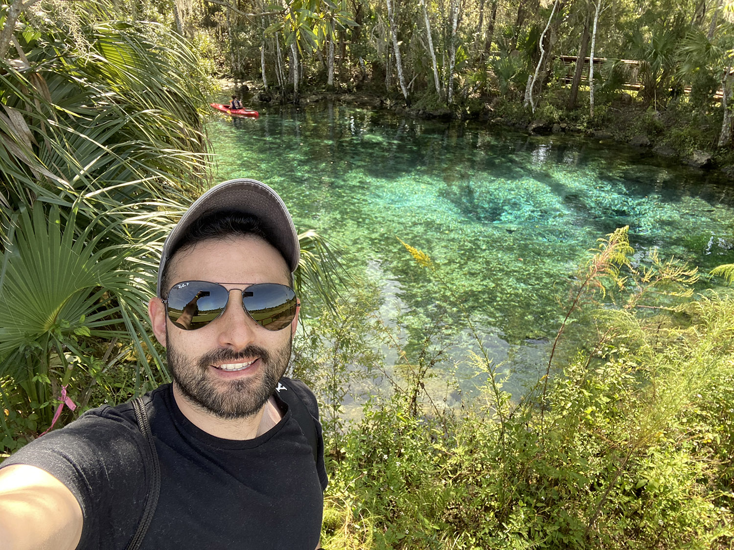 Andy Spinelli na Three Sisters Springs