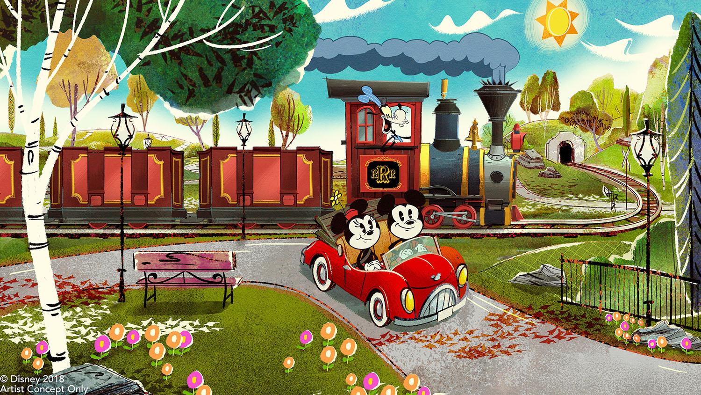 Mickey & Minnie's Runaway Railway - Disney